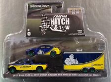 Greenlight Green Machine '17 Ram 2500 &'17 Charger Hellcat Hitch Tow Michelin