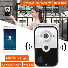 WiFi Wireless Video IR Camera Door Phone Visual Intercom Doorbell Night Version