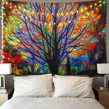 """90.6 X 70.9"""" Colorful Tress Tapestry New Room Bedspread Wall Hanging Tapestries"""