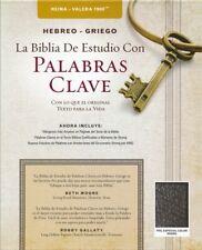 Biblia de Estudio Palabra Clave, RVR 1960 con Dicci/Hebreo-Griego, Piel Negro