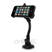 Soporte Coche para iPhone 4 más car holder Ventosa Color Negro a1197