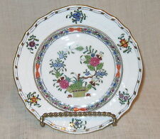Herend Multicolor Indian Basket Bread Plate