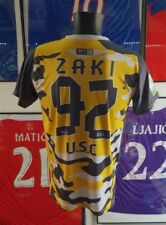 Maillot jersey trikot maglia camiseta shirt algerie algeria worn porté usc zaki