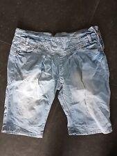 3/4 Jeans blau Gr.29