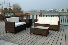 Unbranded Rattan Up to 6 Seats Garden & Patio Furniture Sets