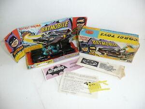 Corgi 267 1966 Batman Batmobile w/figs & Accessories Boxed *original*