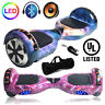 """Hoverboard UL2272 Certified 6.5"""" Self Balancing Electric Scooter Bluetooth + LED"""