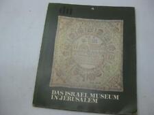 Das Israel Museum in Jerusalem German Judaica