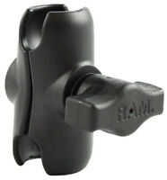 "RAM Mounts RAM-B-201U-A Aluminum Double Socket Arm for 1"" Ball Bases"