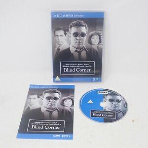 BLIND CORNER DVD w/Booklet Barbara Shelley William Sylvester Elizabeth Shepherd