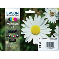 Genuine Epson 18 Multipack T1806 Ink for Expression XP-312 XP-315 XP-412 XP-212