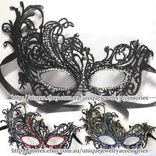 Masquerade Mask Lace Diamante Rhinestone Dance Ball Party Dress Up Costume Women