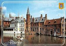 Belgium Brugge Rozenhoedkaai Rosary Quay, Quai du Rosaire Boat