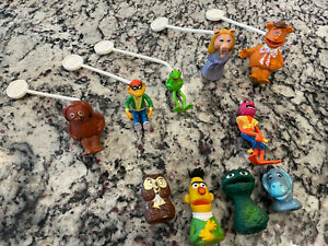 Vintage 1978 Fisher Price Jim Henson's The Muppet Show Players Stick Puppets