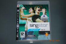 Singstar Vol 3 PS3 Playstation 3