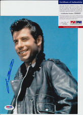JOHN TRAVOLTA GREASE SIGNED AUTOGRAPH 8X10 PHOTO PSA/DNA COA #Z52557