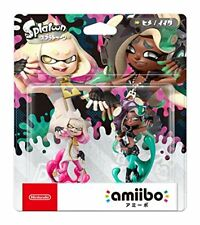 amiibo Tentacle Sets [Hime / Ida] (Splatoon Series) Nintendo Wii U 3DS