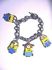 Minions   Kevin stuart  Bob  & friends  Charm Bracelet New