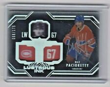 2016-17 MAX PACIORETTY  UD BLACK LUSTROUS INK AUTO MONTREAL CANADIENS