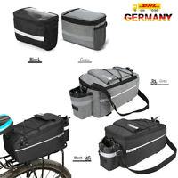 Fahrrad Gepäckträgertasche Multifunktionale MTB Isolierte Umhängetasche Bag DE