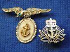 Naval Sweetheart brooch and Royal Navy pin