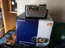 Sony handycam video camera-model dcr-sr32e with 30 GB HDD Boxed see photo