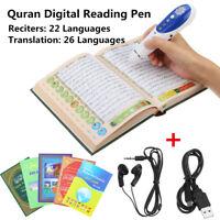 B Digital Holy Quran 8GB Reading Pen Reader Islamic Muslim Prayer Speaker Gift