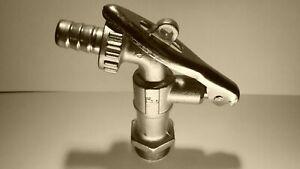 Robinet acier pour acétone D25mm pour fût métal