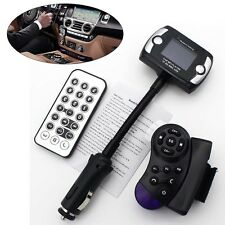 Car Wireless Bluetooth FM Transmitter MP3 Player USB SD LCD Remote Handsfree A³
