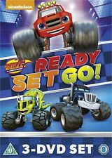 Blaze and the Monster Machines Ready Set Go Collection New DVD 3 Movies Region 4