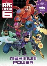 Disney Golden Books Big Hero 6 Maximum Power Activity Sticker & Coloring Book