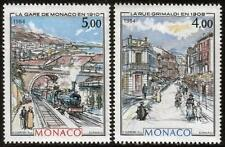 MONACO MNH 1984 MONACO nella Belle Epoque-dipinti da Hubert clerissi