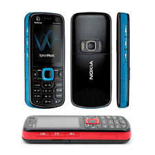 Blue Unlocked Nokia XpressMusic 5320 Cell Mobile Phone Bar 3G Smart Cheap Phones