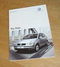 Volkswagen VW Polo Brochure 2004-2005 - 1.2 1.4 1.9 TDI SDI GT Sport Twist SE