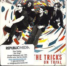 "THE TRICKS ""On Trial"" Rare UK 1 track CD 2014 Folk/Rock."