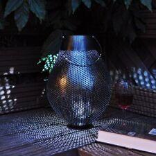 ACERO árabe Usa Energía Solar LED Colgante Linterna Jardín Moderno Iluminación
