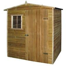 vidaXL Casetta da giardino in legno di pino impregnato 1,5 x 2 m T7E1