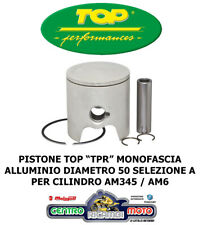Pistone Completo Top Performance D. 50 TPR Alluminio Monofascia AM345 AM6 SEL. A
