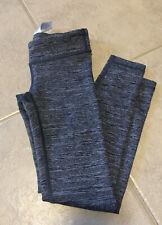 EUC Ivivva (Lululemon For Girls) Size 6 Rhythmic Tight Legging Grey Black Blue