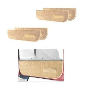 Door Interior Trim Panel Set-Pro-Line Lower Door Panel Carpet Lund 120110, Tan