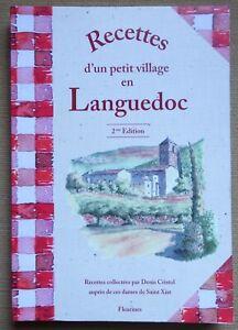 Recettes d'un petit village en Languedoc - Denis Cristol - Ed. Fleurines - 2010