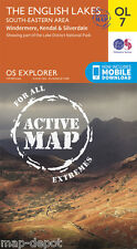 English Lakes ACTIVE Explorer Map - OL 7 - South Eastern Area
