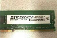 DTM68109D Dataram 4GB PC4-17000 DDR4-2133MHz ECC Unbuffered CL15 288-Pin DIMM