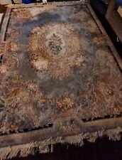 More details for thick floral carpet/rug (9ftx12ft)