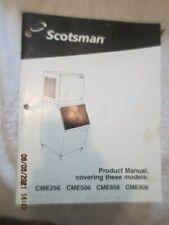 Scotsman Ice Makermachine Cme256 Cme506 Cme656 Cme806 Product Service Manual