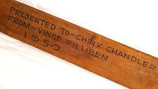 1950 DREXEL UNIVERSITY Coach Presentation-Award VINCE FILLIBEN / CHINK CHANDLER