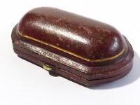 Antique Empty Jewellery Box Brooch Cufflinks London & Ryder Goldsmiths #L&R