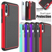For Samsung Galaxy A50 A10e A20 A30 Case Shockproof Hybrid Armor Hard Case Cover