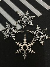 PJ196 /10pcs Tibetan Silver Bead Snow Accessories Jewelry Finding