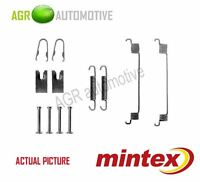 MINTEX REAR BRAKE SHOES SET FITTING KIT PIN SPRINGS GENUINE QUALITY - MBA794